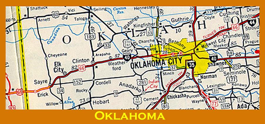 I 40 Oklahoma Map.Livaudais Bunch